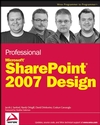 Professional SharePoint 2007 Design (047028580X) cover image