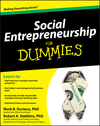 Social Entrepreneurship For Dummies (047063250X) cover image