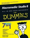 Macromedia Studio 8 All-in-One Desk Reference For Dummies (076459690X) cover image