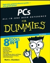 PCs All-in-One Desk Reference For Dummies, 4th Edition (111805220X) cover image