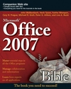 Office 2007 Bible (0470046910) cover image