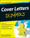 Cover Letters For Dummies, 3rd Edition (0470402210) cover image