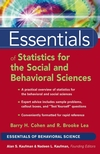 thumbnail image: Essentials of Statistics for the Social and Behavioral...