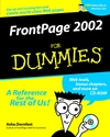 FrontPage 2002 For Dummies