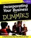 Incorporating Your Business For Dummies (0764553410) cover image