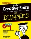 Adobe Creative Suite All-in-One Desk Reference For Dummies (0764556010) cover image