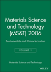 Materials Science and Technology (MS&T) 2006, Volume 1, Fundamentals and Characterization (0873396510) cover image
