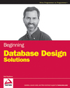Beginning Database Design Solutions (1118072510) cover image