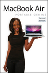 MacBook Air Portable Genius, 2nd Edition (1118077210) cover image