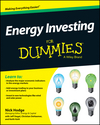 Energy Investing For Dummies (1118116410) cover image