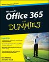 Office 365 For Dummies (1118232410) cover image