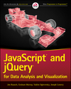 JavaScript and jQuery for Data Analysis and Visualization (1118847210) cover image