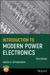Introduction to Modern Power Electronics, 3rd Edition (1119003210) cover image