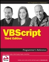 VBScript Programmer's Reference, 3rd Edition (0470230711) cover image