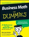 Business Math For Dummies (0470233311) cover image