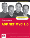 Professional ASP.NET MVC 1.0 (0470384611) cover image