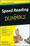 Speed Reading For Dummies (0470550511) cover image
