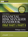 Financial Risk Manager Handbook: FRM Part I / Part II, + Test Bank, 6th Edition (0470904011) cover image