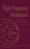 High Frequency Techniques: An Introduction to RF and Microwave Design and Computer Simulation (0471455911) cover image