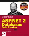 Beginning ASP.NET 2.0 Databases: Beta Preview (0764570811) cover image