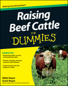 Raising Beef Cattle For Dummies (1118089111) cover image