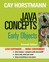 Java Concepts: Early Objects, 7th Edition Binder Ready Version (1118423011) cover image
