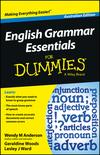 English Grammar Essentials For Dummies - Australia, Australian Edition (1118493311) cover image