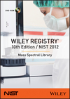 thumbnail image: Wiley Registry 10th Edition  NIST 2012 Mass Spectral Library