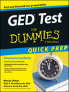 GED Test For Dummies, Quick Prep  (1118899911) cover image