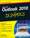 Outlook 2010 For Dummies (0470487712) cover image