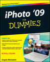 iPhoto '09 For Dummies (0470506512) cover image