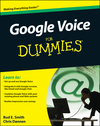 Google Voice For Dummies (0470585412) cover image