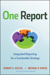 One Report Book Cover