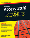 Access 2010 For Dummies (0470632712) cover image