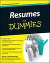 Resumes For Dummies, 6th Edition (0470873612) cover image