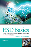 ESD Basics: From Semiconductor Manufacturing to Product Use (0470979712) cover image