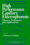 thumbnail image: High-Performance Capillary Electrophoresis Theory Techniques and Applications