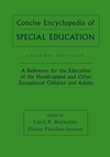 Concise Encyclopedia of Special Education: A Reference for the Education of the Handicapped and Other Exceptional Children and Adults, 2nd Edition (0471652512) cover image