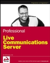 Professional Live Communications Server (0471773212) cover image