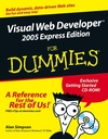 Visual Web Developer 2005 Express Edition For Dummies (0471783412) cover image