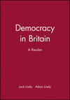 Democracy in Britain: A Reader (0631188312) cover image