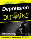 Depression For Dummies (1118068912) cover image