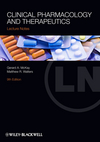 Lecture Notes: Clinical Pharmacology and Therapeutics, 9th Edition (1118344812) cover image
