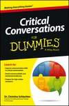 Critical Conversations For Dummies (1118490312) cover image