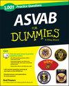 1,001 ASVAB Practice Questions For Dummies (+ Free Online Practice) (1118646312) cover image