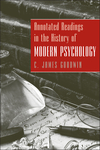 Annotated Readings in the History of Modern Psychology (EHEP000212) cover image