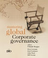 Mastering Global Corporate Governance (0470090413) cover image
