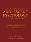 Handbook of Adolescent Psychology, Volume 1, Individual Bases of Adolescent Development, 3rd Edition (0470149213) cover image