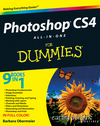Photoshop CS4 All-in-One For Dummies (0470448113) cover image