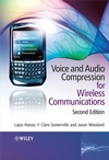 Voice and Audio Compression for Wireless Communications, 2nd Edition (0470515813) cover image